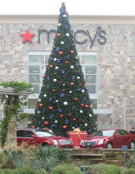 domain austin christmas tree lighting domain austin texas christmas tree lighting macy s