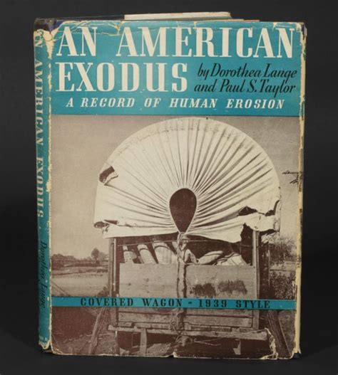 arrival exodus books an american exodus a record of human erosion dorothea
