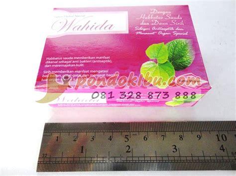 Sabun Daun Sirih sabun herbal wahida dengan habbatus sauda dan daun sirih