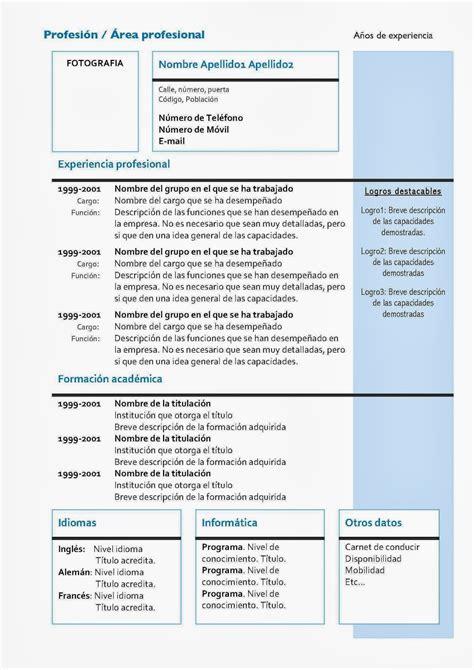 Modelo Curriculum Vitae Para Recursos Humanos Administraci 243 N De Recursos Humanos Curriculum Vitae