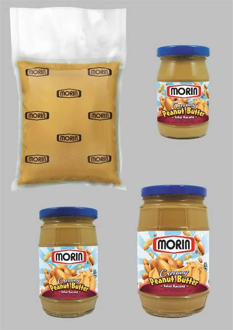Morin Peanut Butter Chunky 300g peanut butter products indonesia peanut butter supplier