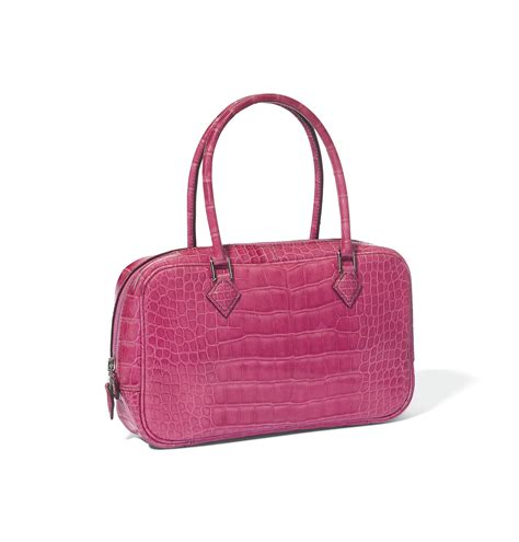 Plume Bag From Mad Imports by A Fuchsia Alligator Plume Elan Bag Herm 200 S 2007
