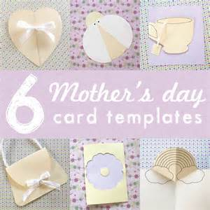 Mothers Day Cards Templates by 6 Printable Mothers Day Card Templates For The