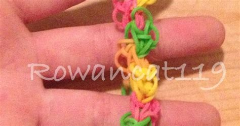 zigzag pattern rainbow loom this is a zig zag pride pattern rainbow loom rubber band