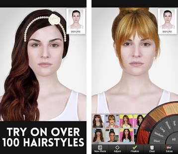hairstyles modiface app celebrity hairstyle salon apk download latest version 1 7