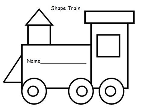Train Engine Template Preschoolers Cuckoo For Choo Choos Engine Templates