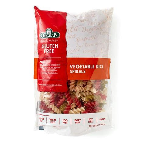 Orgran Vegetable Animal Pasta orgran gluten free vegetable rice pasta spirals 250g from ocado