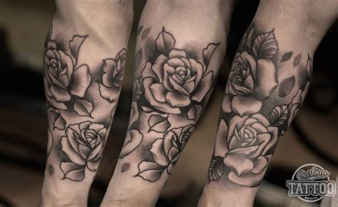half sleeve rose tattoos tattoo collections