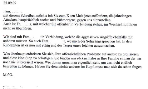 Liebesbriefe Vorlagen Muster Jahrelanger Terror Duch Mieter Mietrecht Forum 123recht Net