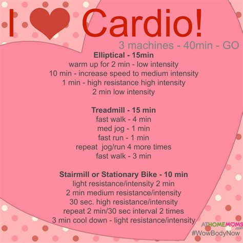 cardio exercise plan for home home design and style