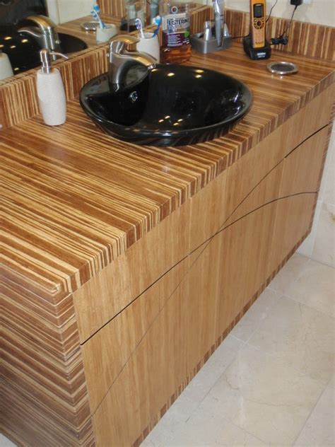 Bamboo Bathroom Countertops by Bamboo Bathroom Ideas Modern By Bamboo Crew