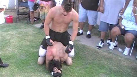 backyard mma fights tj vs darynn backyard mma fighting youtube