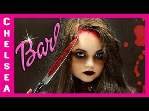 film barbie zombie killer barbie makeup tutorial chelsea crockett youtube
