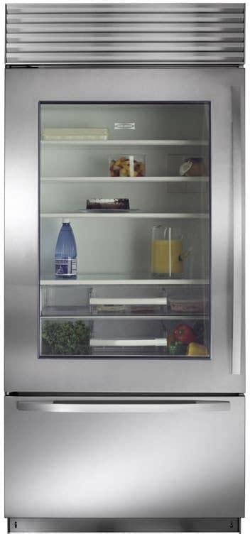 sub zero 36 inch kühlschrank sub zero bi36ugsth 36 inch built in bottom freezer