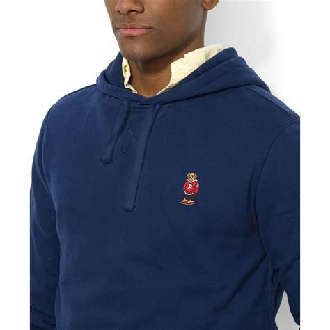 Hoodie Pullover Hoodie Polos Sweater lyst ralph polo fleece pullover hoodie in