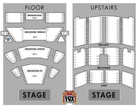 fox theater floor plan fox theater floor plan gurus floor