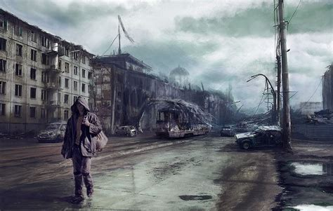 best war 2014 hd 71 into the the road picture 2d illustration matte painting war