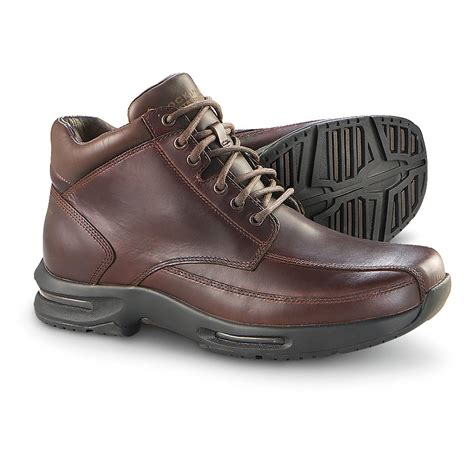 mens causal boots s rockport 174 waterproof marzano torsion boots brown