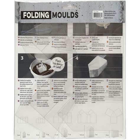 Mallen Voor Beton by Plastic Vouw Mallen Huisjes Voor Beton 6 14 5cm 5 Stuks