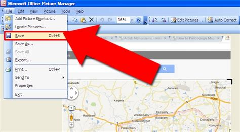 Printable Maps Google | 4 easy ways to print google maps with pictures wikihow