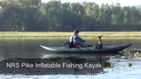 inflatable fishing boat setup nrs pike inflatable fishing kayak youtube