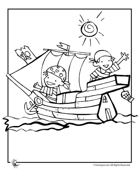 pirate ships coloring pages az coloring pages