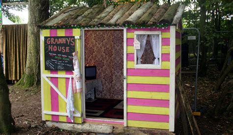 granny s house granny s house installation stolen from electric picnic site