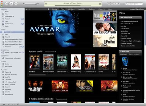film gratis itunes arriva itunes movie noleggio e acquisto film technohouse
