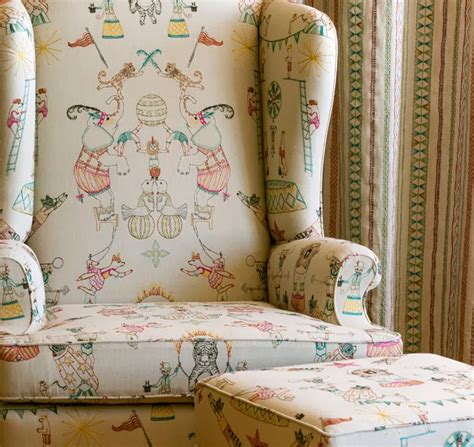 what is home decor fabric coral and tusk circus print home decor fabrics for pollack