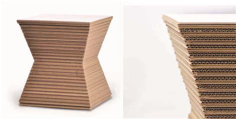 mobili in cartone riciclato mobili in cartone una nuova strada per il riciclo della