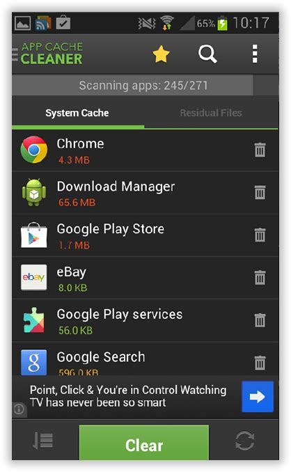 clear system cache android 3 ways to fix quot insufficient storage available quot error in android