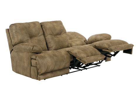 lay flat recliner sofa voyager brandy lay flat triple reclining sofa lexington