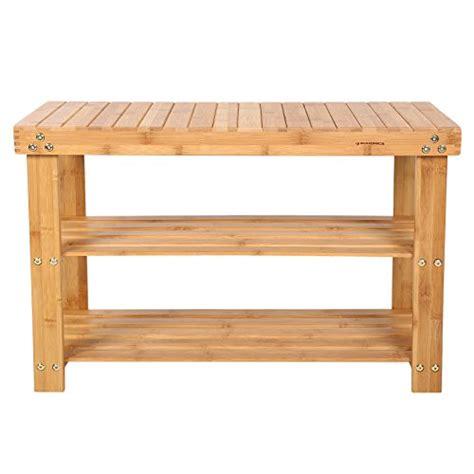 etagere 98 cm songmics 4 ripiani bamb 249 scaffale scaffalatura etagere