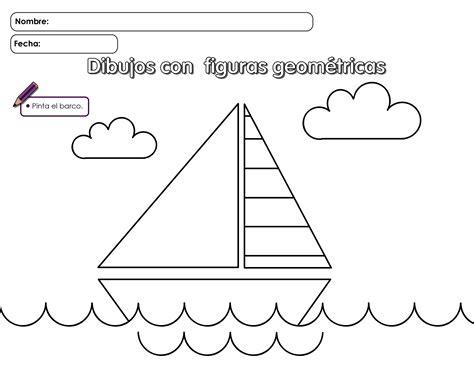 imagenes de barcos con figuras geometricas barco hago mi tareahago mi tarea