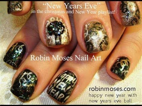 new year nail diy nail tutorial easy nye nails diy new years