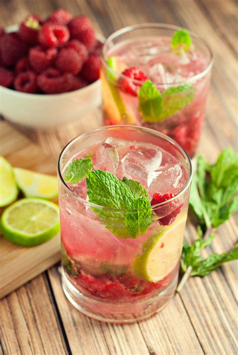 raspberry mojito recipe raspberry mojito recipe hairspray and highheels