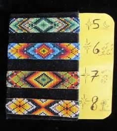 native american huichol new original designs beaded bracelet