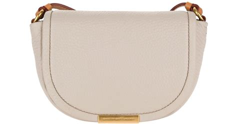 Marc By Marc Softy Messenger by Marc By Marc Softy Saddle Crossbody Bag In Gray Lyst