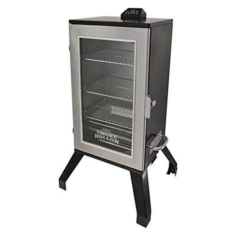 find the best digital electric bbq smoker for you smoke hollow 30 in digital electric smoker with window