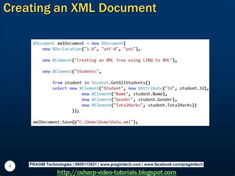 xml tutorial for beginners in c sql server net and c video tutorial part 2 creating