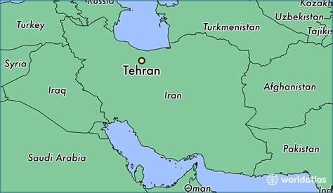 tehran on a world map where is tehran iran tehran tehran map worldatlas