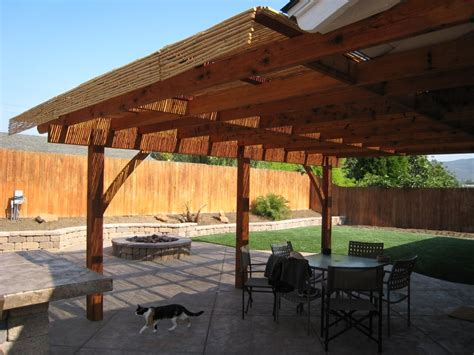 Bamboo Patio Cover Pa3