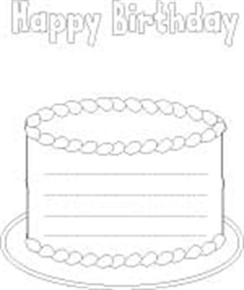 birthday writing paper feliz cumpleanos cake shape writing paper with lines