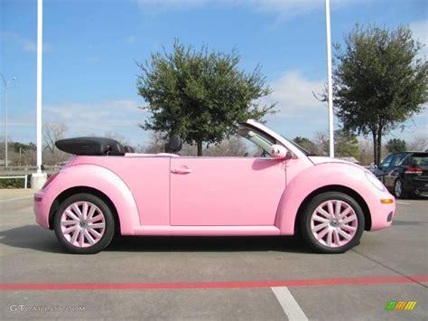 volkswagen beetle pink convertible volkswagen beetle convertible pink