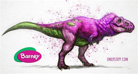 barney dinosaur emilystepp deviantart