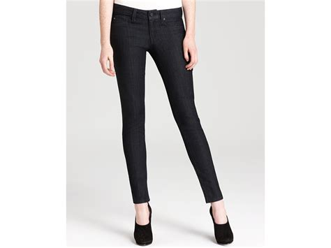 design lab clothing sold design lab basic skinny denim in iris in blue iris