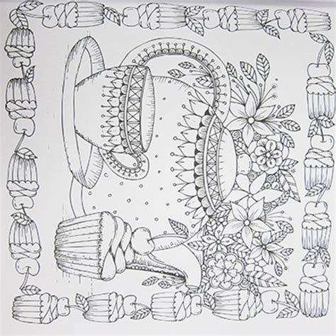 coloring pages for adults kitchen as seen on tv magic path adult colouring book multi
