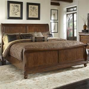 King Size Bedroom Sets Jackson Ms Liberty Furniture Rustic Traditions King Sleigh Bed Set