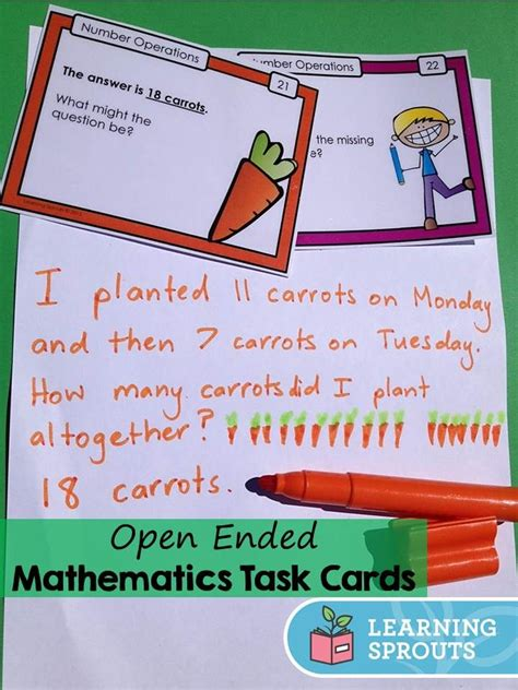 Open Ended Mathematics Addition And Subtraction Task