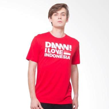 Kaos Damn I Indonesia 2 baju kaos pria lengan panjang damn i indonesia jual